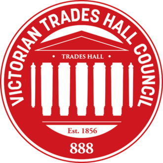 Victorian Trades Hall Council - Image: Victorian Trades Hall Council logo