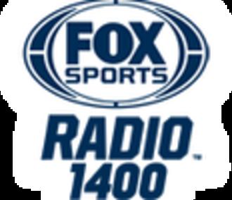 WCOS (AM) - Image: WCOS FO Xsports Radio 1400 logo