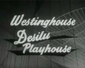 Westinghouse Desilu Playhouse - Series title card