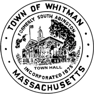 Whitman, Massachusetts - Image: Whitman MA seal