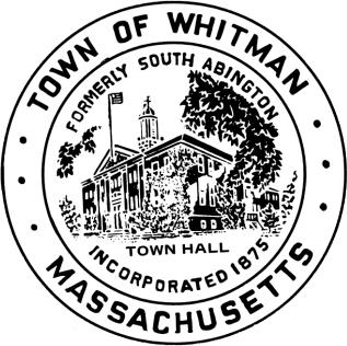 Official seal of Whitman, Massachusetts