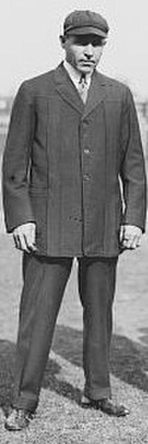 Lord Byron (umpire) - Byron as a National League umpire
