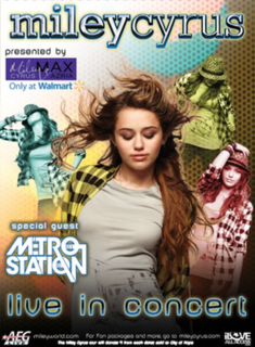 Wonder World Tour (Miley Cyrus) 2009 concert tour by Miley Cyrus