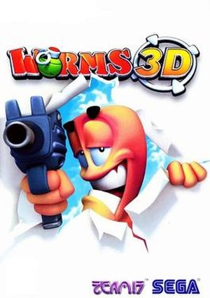 Worms 3D - Image: Worms 3D cover