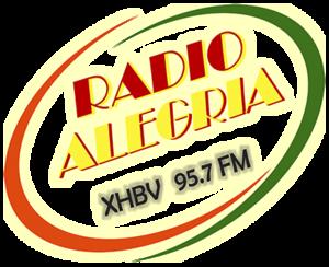 XHBV-FM - Image: XHBV radioalegria 95.7 logo