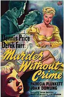 <i>Murder Without Crime</i> 1950 film by J. Lee Thompson