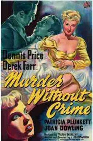 Murder Without Crime - UK theatrical poster
