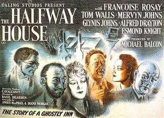The Halfway House - British quad poster