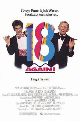 18 Again! - Theatrical release poster