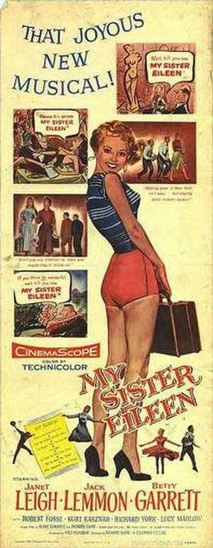 My Sister Eileen (1955 film) - Original poster