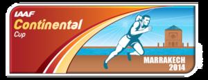 2014 IAAF Continental Cup - Image: 2014 IAAF Continental Cup logo