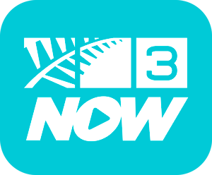 Three (New Zealand) - Former 3NOW logo used until 2017