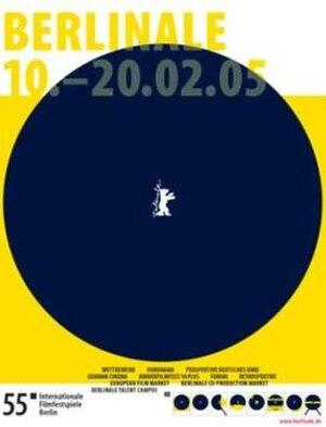 55th Berlin International Film Festival - Festival poster