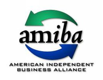 American Independent Business Alliance - AMIBA logo
