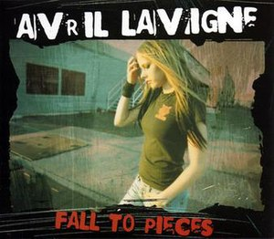 Fall to Pieces (Avril Lavigne song) - Image: AVRIL LAVIGNE FALL TO PIECES single cover