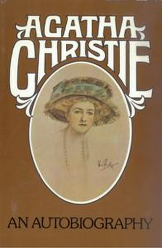 Agatha Christie: An Autobiography - Dust-jacket illustration of the first UK edition