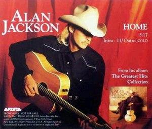 Home (Alan Jackson song) - Image: Alan Jackson home