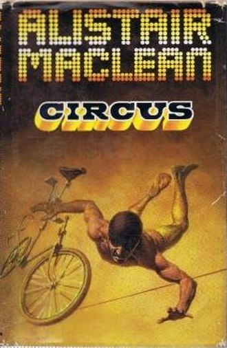 Circus (novel) - First edition cover (UK)