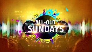 <i>All-Out Sundays</i> Philippine television show
