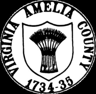 Amelia County, Virginia - Image: Amelia Seal
