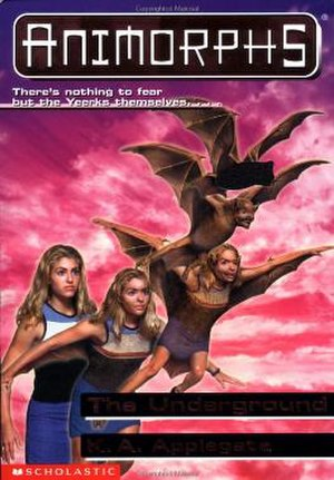 The Underground (novel) - Rachel morphing into a bat.