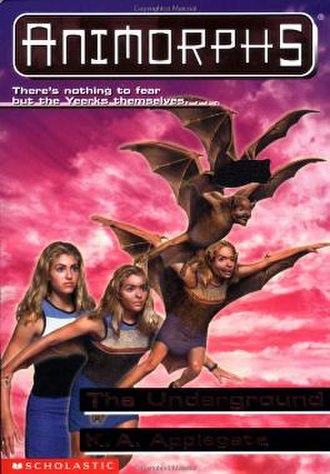 The Underground (novel) - Rachel morphing into a bat.