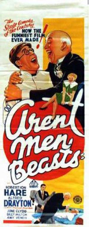 Aren't Men Beasts! - Image: Aren't Men Beasts! Film Poster