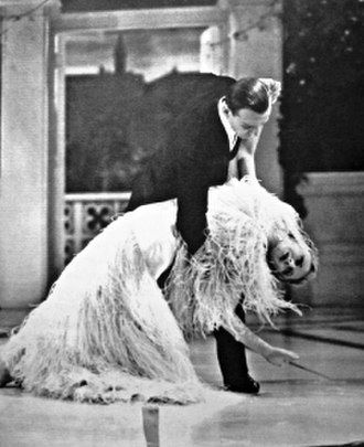"Top Hat - The final supported backbend – Astaire and Rogers in the climax to ""Cheek to Cheek"""