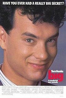 <i>Big</i> (film) 1988 film by Penny Marshall