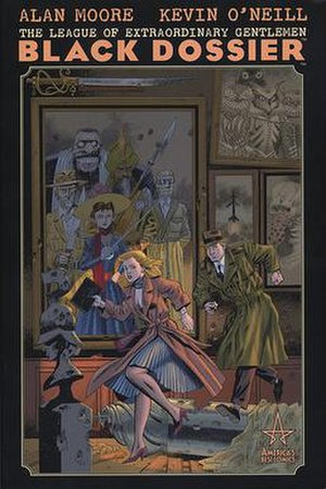 The League of Extraordinary Gentlemen: Black Dossier - Cover of Black Dossier