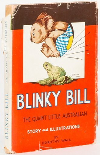 Blinky Bill - Copy of the 1939 cover of The Complete Adventures of Blinky Bill by Dorothy Wall