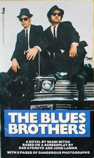 "The Blues Brothers (novel) - Cover for ""The Blues Brothers"", a novelization of ''The Blues Brothers''"