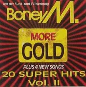 More Gold – 20 Super Hits Vol. II - Image: Boney M. More Gold 20 Super Hits