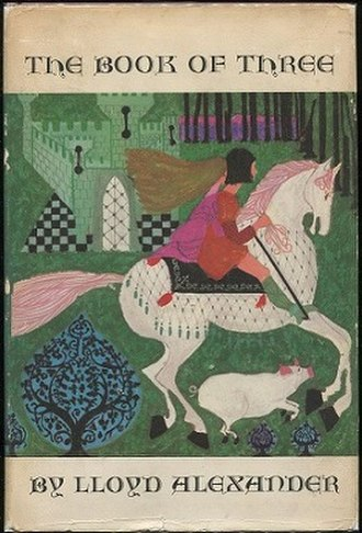 The Book of Three - First edition dustjacket with Ness artwork