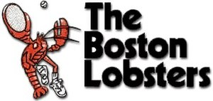 Boston Lobsters (1974–1978) - Image: Boston Lobsters WTT1974logo