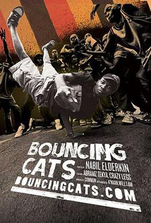 Bouncing Cats - Theatrical release poster