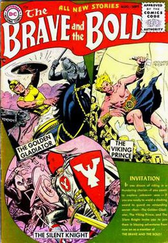 The Brave and the Bold - Image: Brave & Bold 1955 01 cover