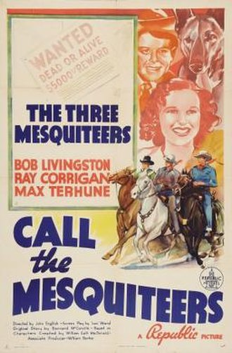 Call the Mesquiteers - Image: Call the Mesquiteers Film Poster