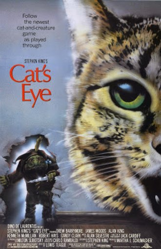Cat's Eye (1985 film) - Theatrical release poster