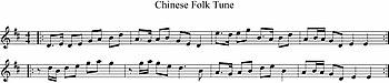 Chinese Folk Tune