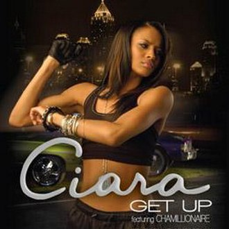 Get Up (Ciara song) - Image: Ciaragetupsingle