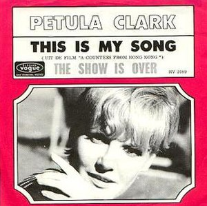 This Is My Song (1967 song) - Image: Clarksong