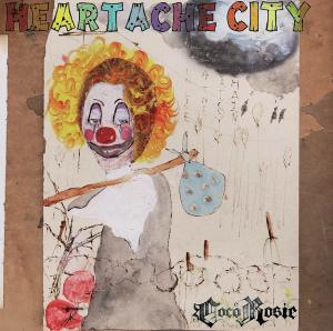 Heartache City - Image: Coco Rosie Heartache City vinyl cover