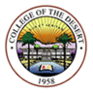 College of the Desert - Image: College of the Desert seal