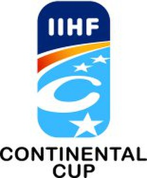 IIHF Continental Cup - Image: Continental Cup Logo
