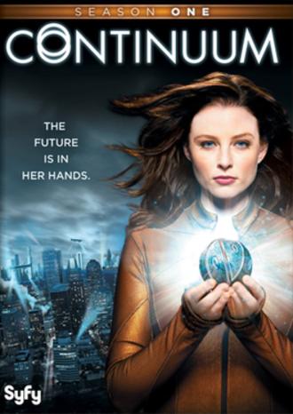 Continuum (season 1) - American DVD cover art