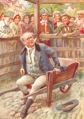 Samuel Pickwick - Mr Pickwick as illustrated by Harold Copping in 1924
