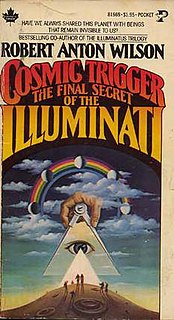 <i>Cosmic Trigger I: The Final Secret of the Illuminati</i> book by Robert Anton Wilson