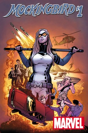 Mockingbird (Marvel Comics) - Image: Cover of Mockingbird 1