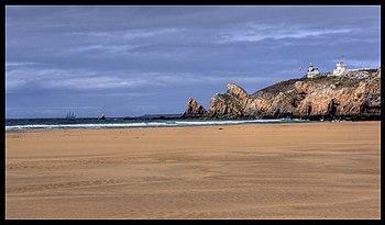 Seaside near the Crozon Peninsula.